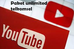 Paket Youtube Telkomsel Unlimited Termurah