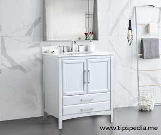 grey bathroom cabinet over toilet