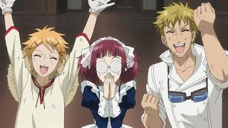 Hellominju.com: 黒執事 ファントムハイヴ家の使用人 | タナカ | バルドロイ | フィニアン | メイリン | スネーク  | Black Butler Phantomhive household | Hello Anime !