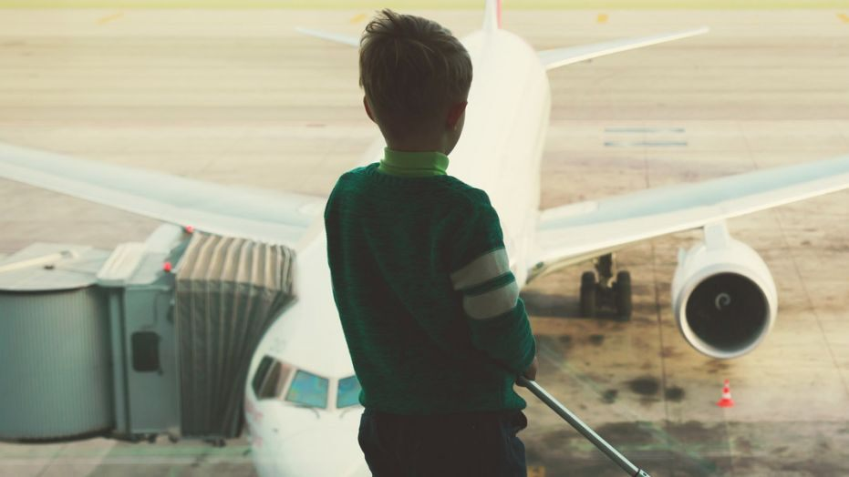 13-year-old boards a plane without ticket