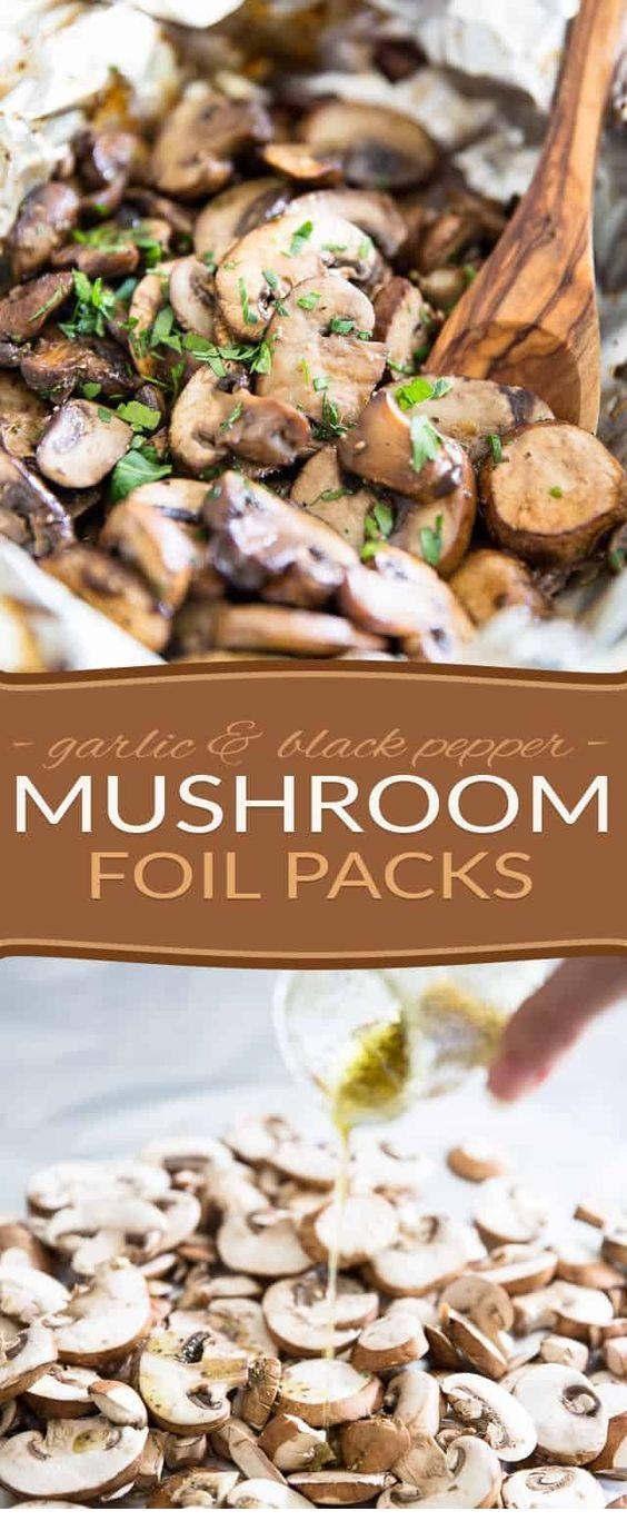 Mushroom Foil Pack