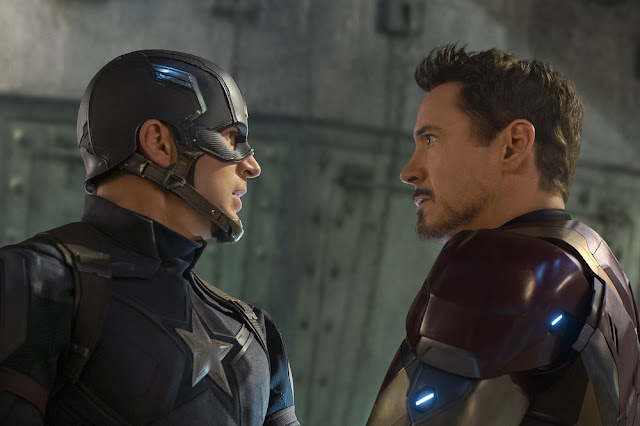 captain america vs iron man civil war still