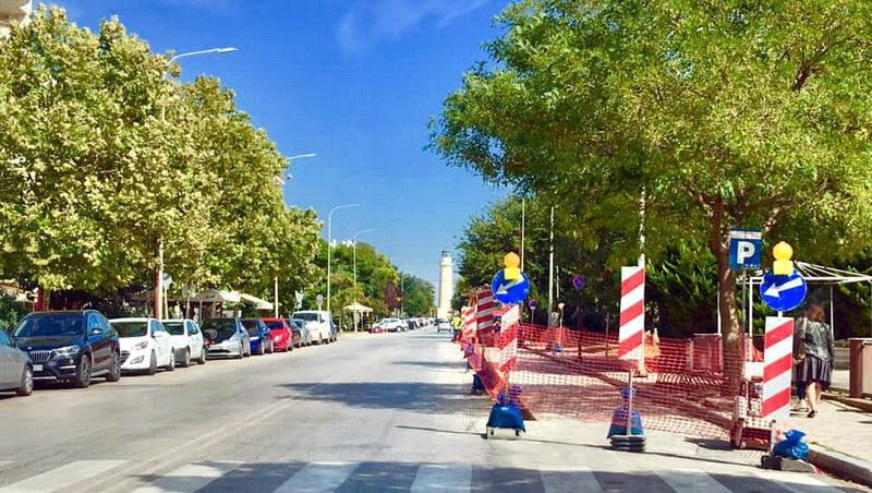 Μονοδρομείται τμήμα της παραλιακής οδού της Αλεξανδρούπολης με απόφαση της νέας δημοτικής αρχής