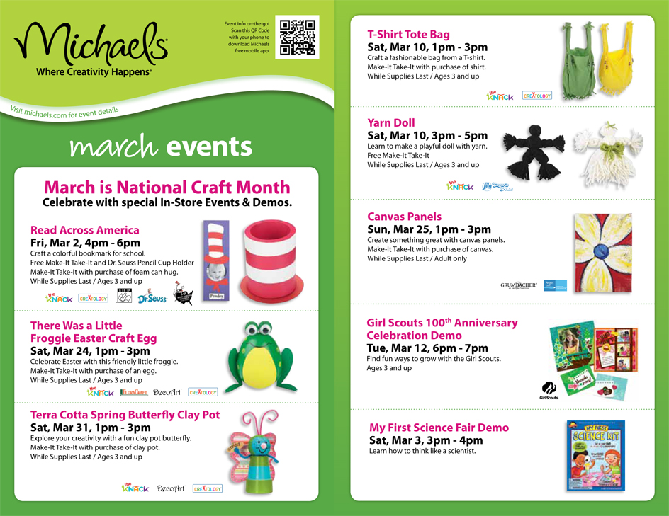 Mom blog march is national craft month getting crafty with kids