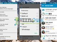 Aplikasi BBM Mod Originally Mix Max Versi 3.0.0.18 Terbaru