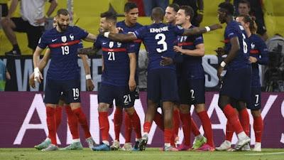 Hasil Euro 2020 Prancis vs Jerman: Skor 1-0
