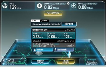 موقع Speed test