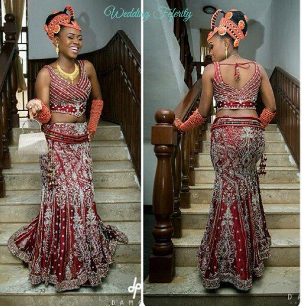Wedding In Nigeria Traditional Dresses: HEAVEN BRIDES : Nigerian Igbo Brides