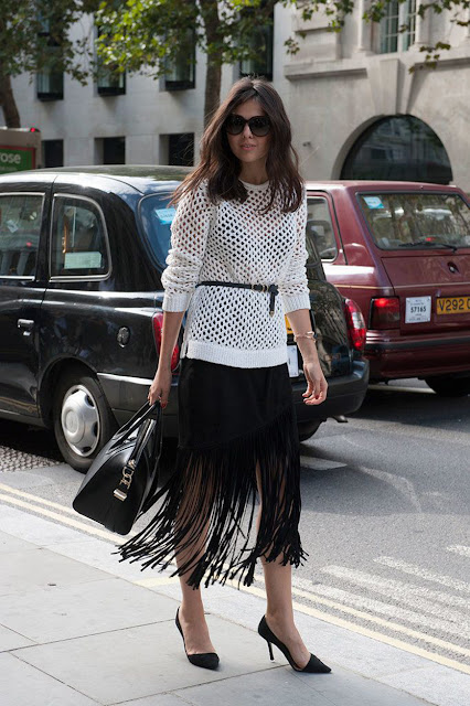 How to Wear Fringe Skirts