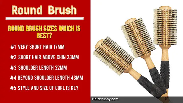 Round Brush Size Chart Which Size Is Best For You