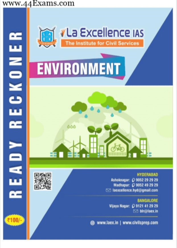 La-Excellence-Environment-For-UPSC-Exam-PDF-Book