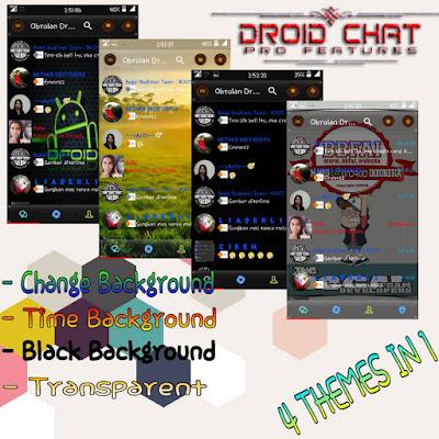 DroidChat BBM Clone Pro Feature 2.13.1.14 Apk Mod Terbaik