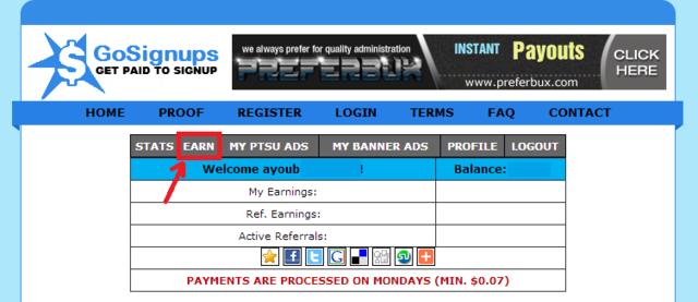 فقط بتسجيلك في موقع gosignups ستبدأ في جني الأرباح فورا