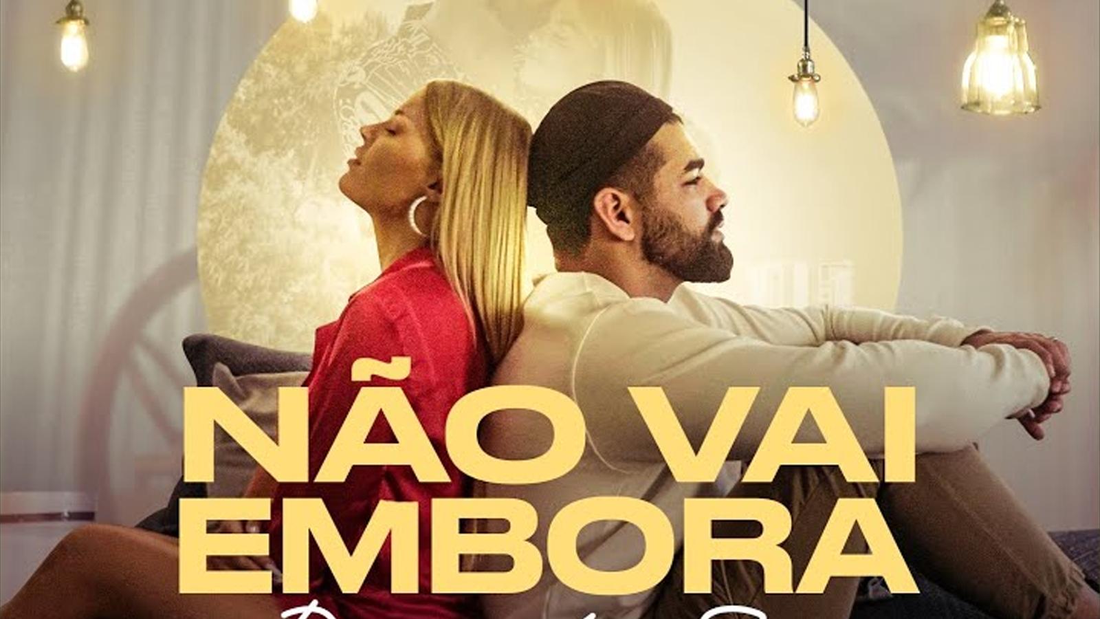 """Ao melhor estilo dos hits do próprio cantor, """"Não Vai Embora"""" traz a dona de """"Garupa"""" para o pagode e ela, mais uma vez, prova a sua versatilidade."""