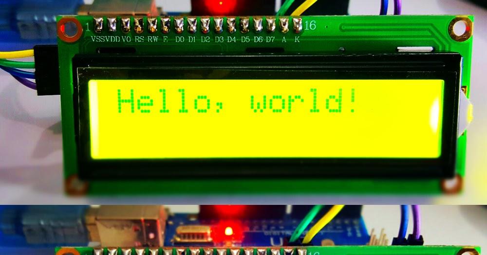Panduan Lengkap Penggunaan 1602 2004 Iic I2c Lcd Untuk Arduino