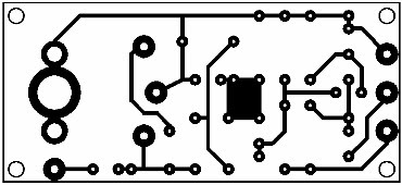 Printed Circuit Diode AM Receiver