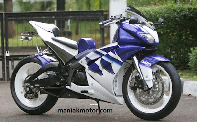 Modifikasi motor Jupiter Z Moge