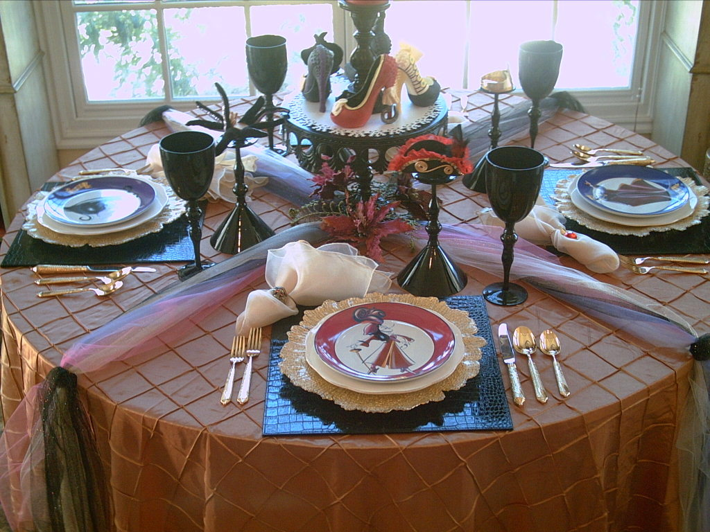 Candlelight Supper Disney Villains Tablescape
