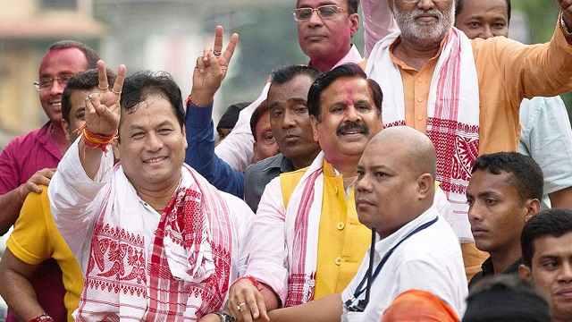 भाजपा मौजूदा मुख्यमंत्री सर्वानंद सोनोवाल को हटाने का कोई कारण नहीं है