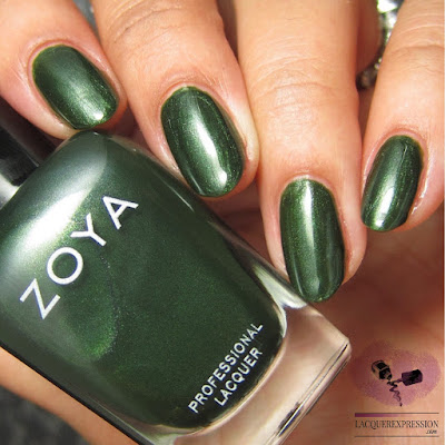 nail polish swatch of Zoya Tabitha from the fall 2017 Sophisticate collection