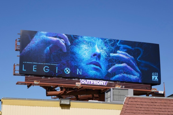 Legion season 2 FX billboard