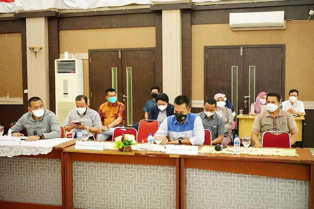 Bupati Karimun Pimpin Rapat Koordinasi Penanganan Covid-19 dan Percepatan Vaksinasi