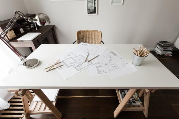 дизайнерский рабочий стол фото