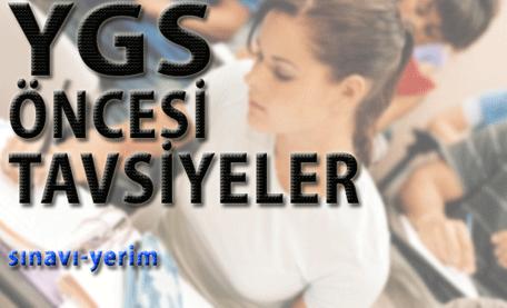Ygs Öncesi Öğrencilere Tavsiyeler