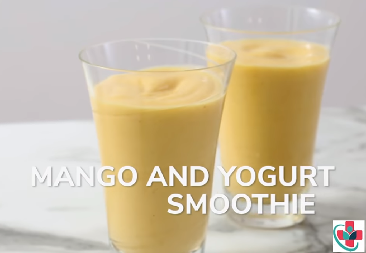 Flavorful and Nutritious Mango Yogurt Smoothie Recipe