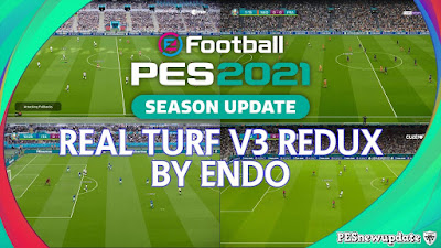 PES 2021 Real Turf V3 by Endo