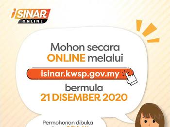 Sila Klik untuk Memohon I-SINAR KWSP