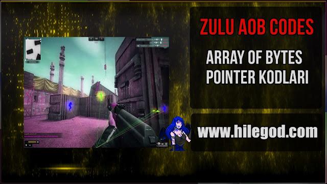 zulu hile hack pointer aob codes 2020