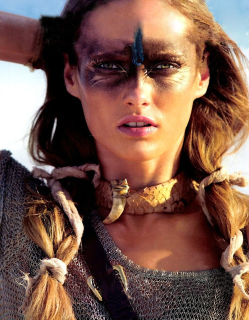 SURVIVOR SIREN - Karmen Pedaru for Vogue Paris June/July 2012
