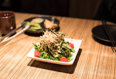 日式料理餐前小菜介紹 過貓菜、梅子番茄、紫蘇梅苦瓜、紫蘇大根