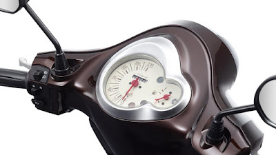 Yamaha D'elight Scooter speed console