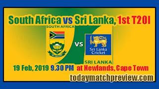 Africa vs LANKA Today 1st T20 Match Prediction Cricket Win Tips LANKA vs Africa