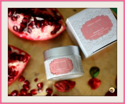 Vanya Herbal Anaarcare Pomegranate Face Cream Review
