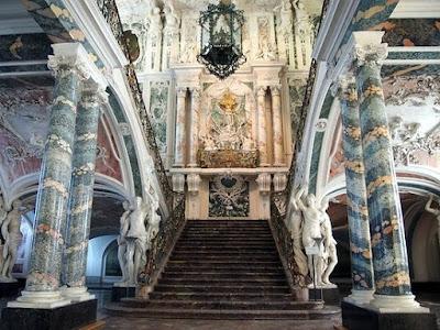 Escalera Palacio de Augustusburg