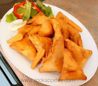Samosa And Spring Rolls Recipe