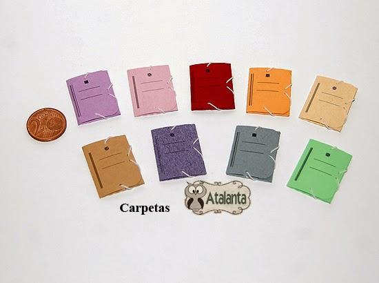 Atalanta miniaturas enero 2015 for Carpetas para oficina