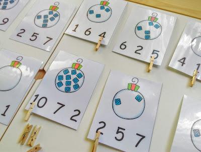 Blogmas, day 10, δραστηριότητες με αριθμούς,