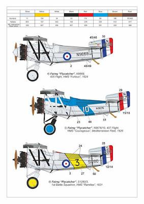 Fairey Flycatcher Decals picture 2
