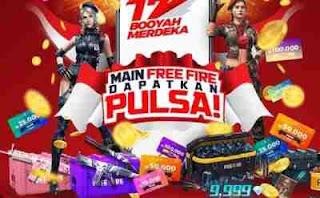 Kejutan Game Free Fire dalam Event Kemerdekaan