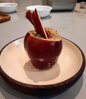Healthy Apple Cinnamon  Oatmeal Recipe