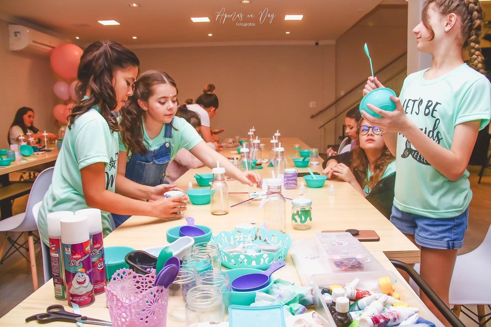 Festa Infantil 11 anos - Decoração e tema Sereia | Apenas eu, Day Fotografias, fotógrafa em Curitiba, Paraná
