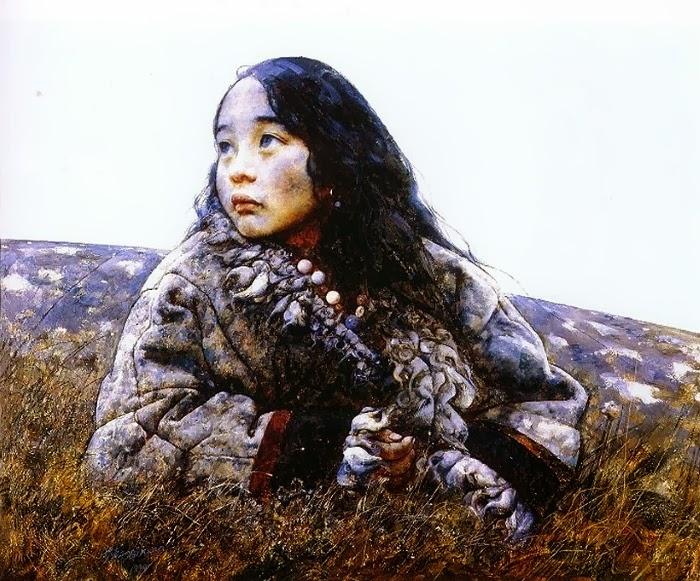 пейзажи Тибета. Ai Xuan