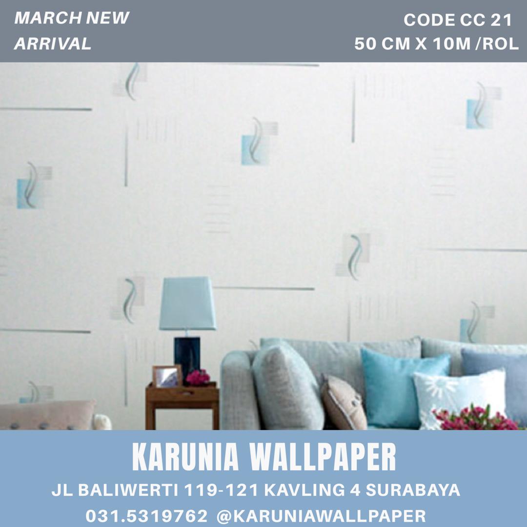 jual dinding wallpaper motif toko karunia surabaya
