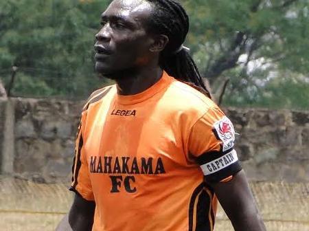 Harambee Stars captain Zablon Amanaka photo