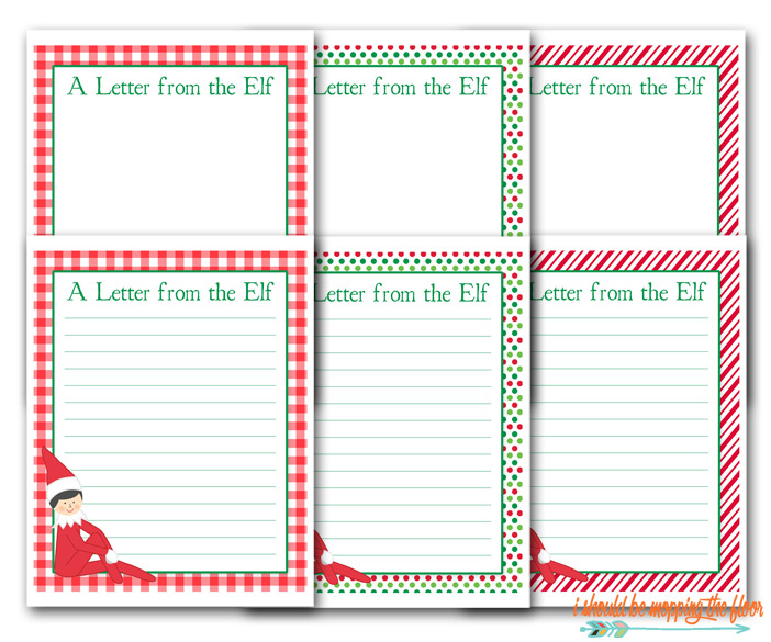 Free Elf on the Shelf Printable Letter