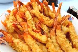 Crispy Shrimp Tempura Recipe #healthyfood #dietketo